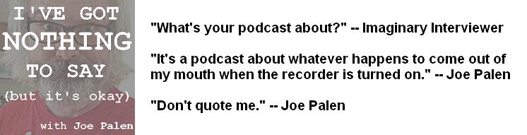 Joe Palen - Podcast Banner